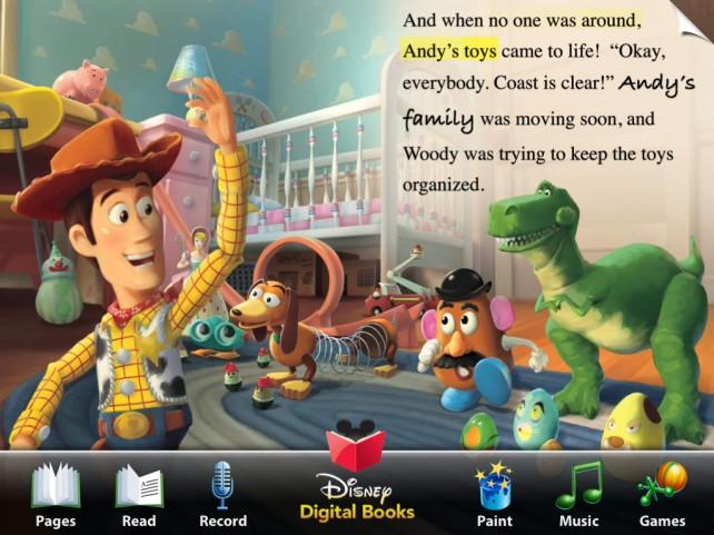 Disney Book Apps Hit One Million Downloads