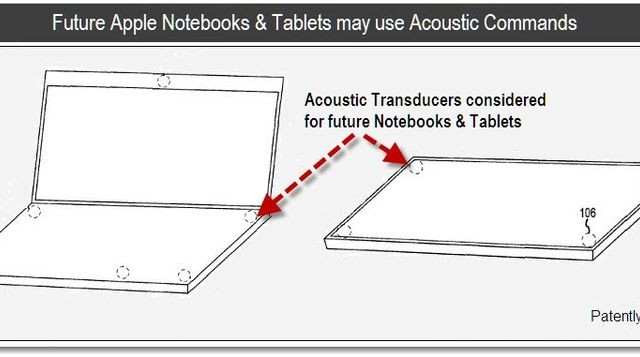 Apple Patents Acoustic Commands