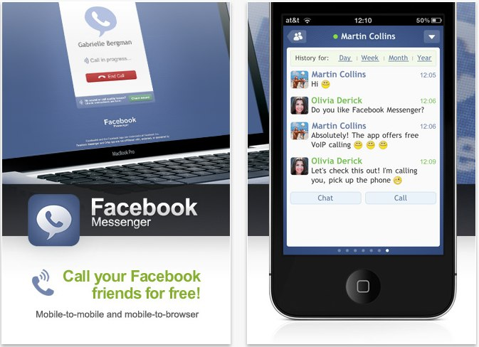 Facebook Messenger: Enjoy Free VoIP Calls With Your Facebook