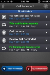 QuickAdvice: Get Reminded Will Make Sure You're Reminded On Your iPhone