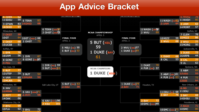 Pocket Bracket Offers Some Anger Management For Your March Madness