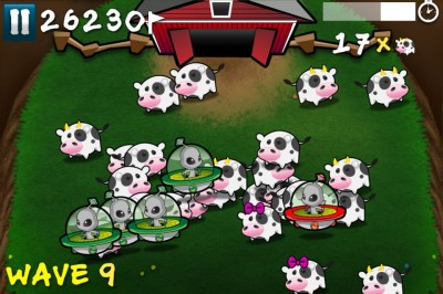 Review: Cows Vs Aliens - Keep Them Doggies Movin' Rawhide!