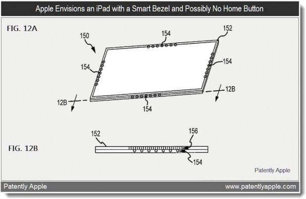 "New ""Smart Bezel"" Patent Emerges, Forecasts Future Of iPad"