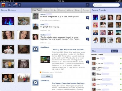 """Friended - Facebook For iPad Is An App You're Going To """"Like"""""""