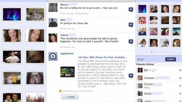 "Friended - Facebook For iPad Is An App You're Going To ""Like"""