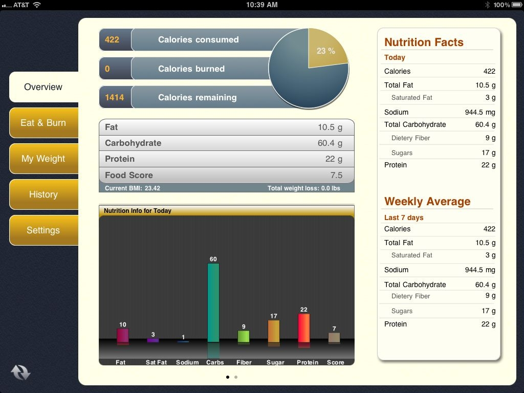 Spring Into Shape With Tap & Track, Calorie Tracker For iPad