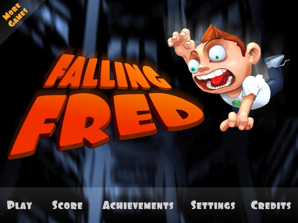 Falling Fred Is A Bloody Good Time