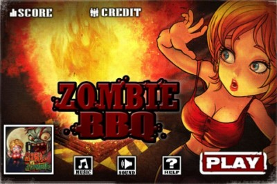 Survive Or Fry With Zombie BBQ
