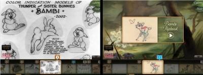 Disney Second Screen: Bambi Edition - Explore The Bambi Archives!
