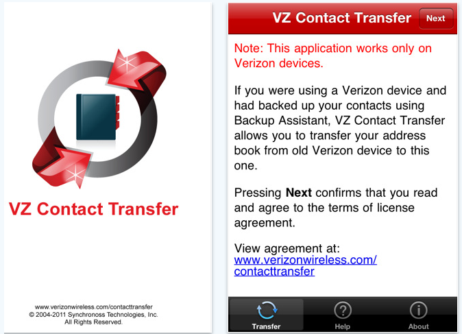 VZ Transfer: Restore Contacts To Your Verizon iPhone