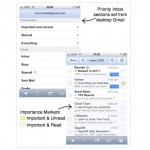 "Google Mail Adds ""Priority Inbox"" To iOS Web App"