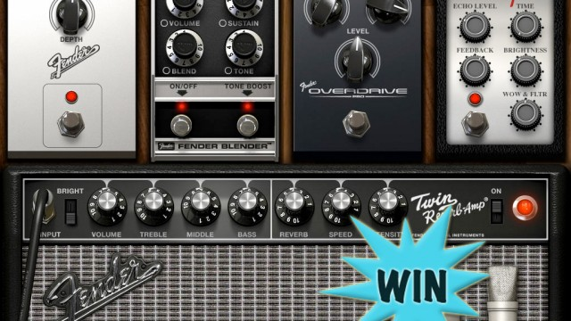 A Chance To Win An AmpliTube Fender For iPad Or iPhone Promo Code With A Comment