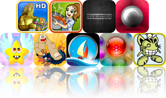 iPhone And iPad Apps Gone Free: The Rise Of Atlantis HD, Cooking Dash, Slide To Unlock, And More