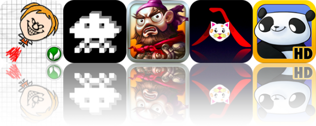 iPhone And iPad Apps Gone Free: Doodle Evil Fly, 8bit App, iWrite Chinese, And More