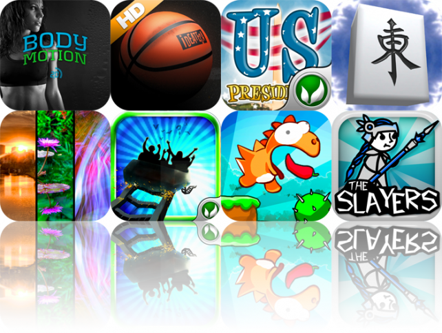 iPhone And iPad Apps Gone Free: Body Motion, iBasket, US Presidents, And More