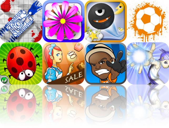 iPhone And iPad Apps Gone Free: Panzer Panic, Flower Garden, Monsterball A, And More