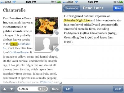 Articles - The Wikipedia App Update Adds Text Search, AirPrint Support, And More
