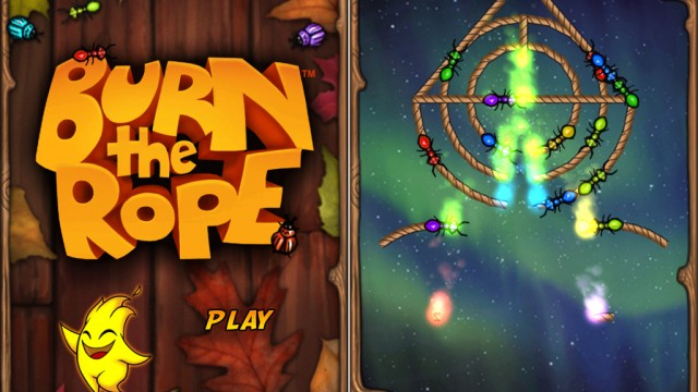 Burn The Rope v1.2 Adds Retina Support, New Levels, New Insects, And Other Improvements