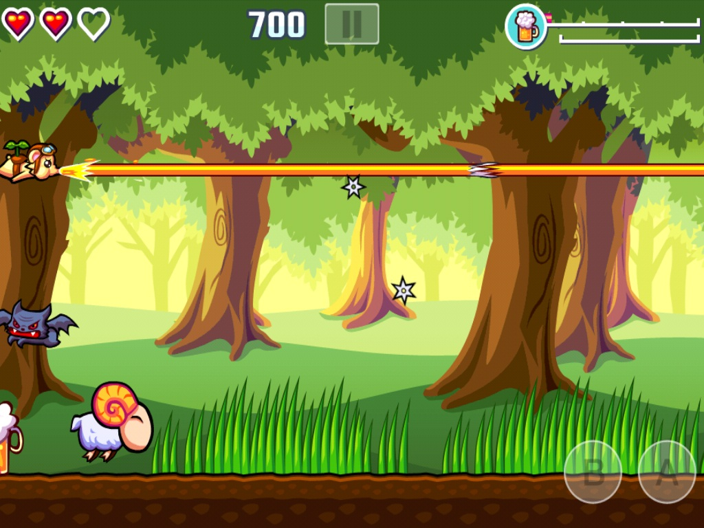 QuickAdvice: Flying Hamster HD Side-Scrolling Shooter Fun