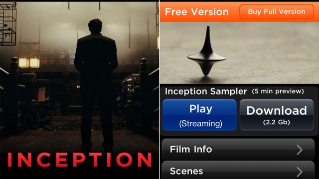 Warner Bros. Releases DVD-Style Movie Apps, Beginning With Inception And The Dark Knight
