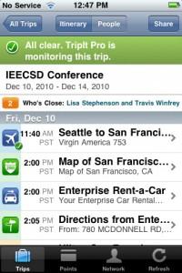 TripIt - Travel Organizer (no ads) by TripIt screenshot
