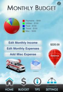 Debt Buster by Wooza Mobile screenshot