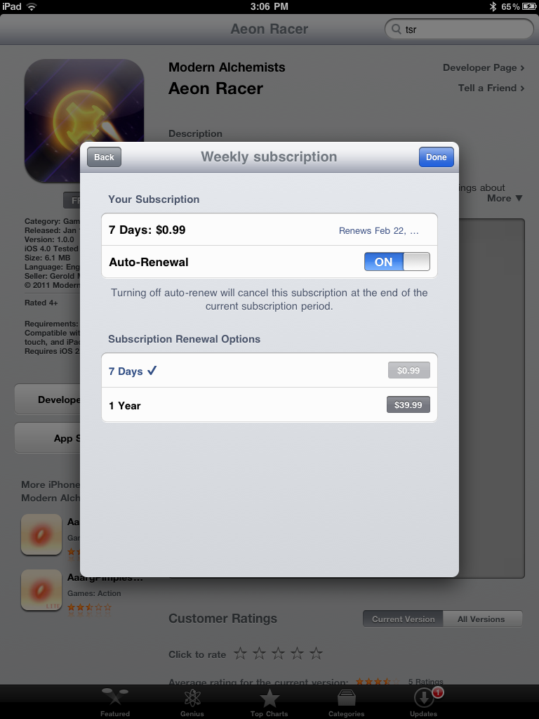 Apple Officially Launches Subscriptions On The App Store - Offers New Revenue Split For Publishers