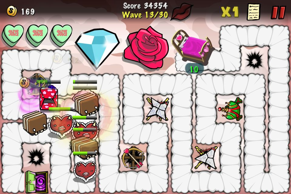 Celebrate Valentine's Day With The Creeps And Some Tower Defense Fun