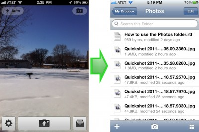 Dropbox As A Remote Camera Roll: What Should You Use?