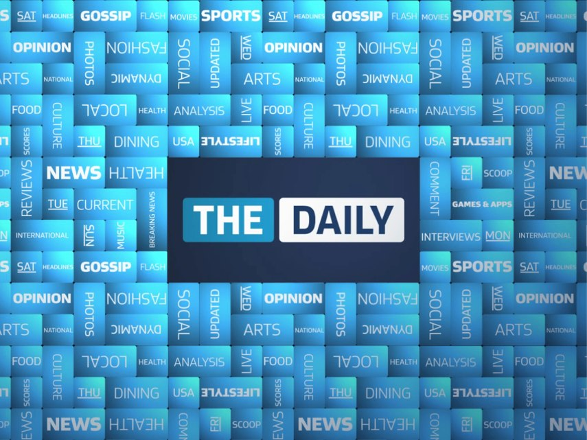 """The Daily"" Hits The App Store"
