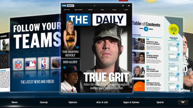 One Week After Its Debut, The Daily Gets An Update