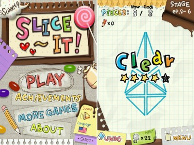 Slice It! Update Adds 20 New Levels And A Sweet New Skin