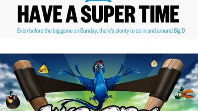 Watch For Angry Birds, Motorola & The Daily Today At The Super Bowl