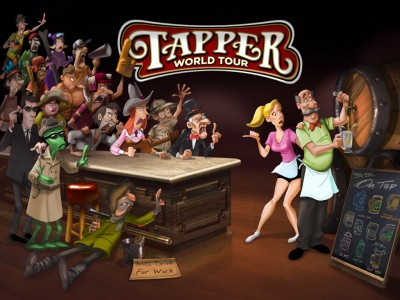 Wet Your Whistle With The First Trailer For Tapper World Tour For iOS