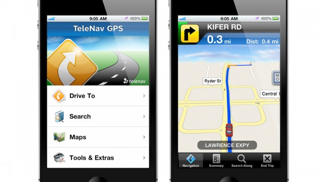 TeleNav GPS Will Offer Turn-By-Turn Navigation Services For Verizon iPhone Customers