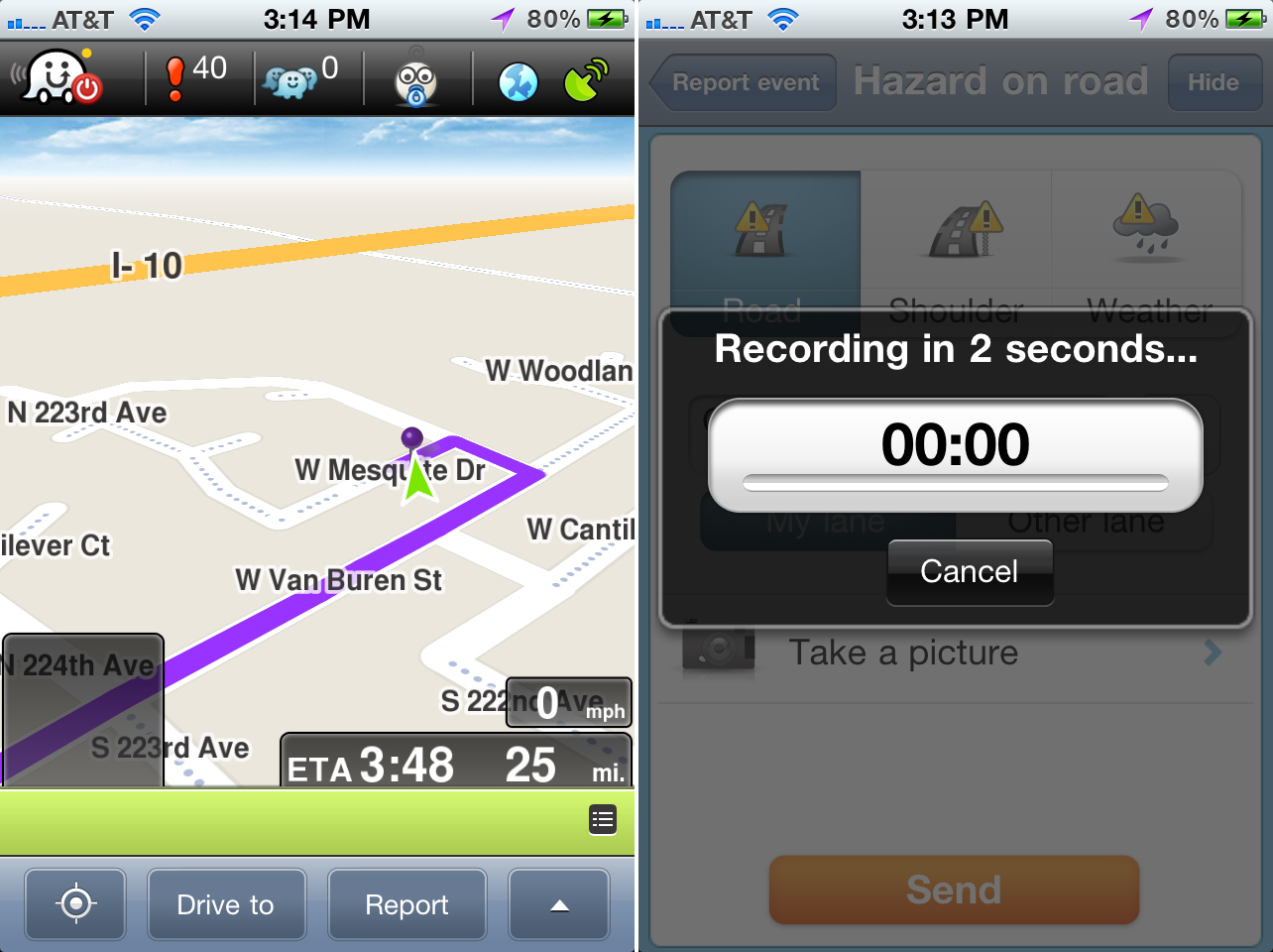 Waze Update Adds Real-Time Voice Alerts For Hazards And Heavy Traffic