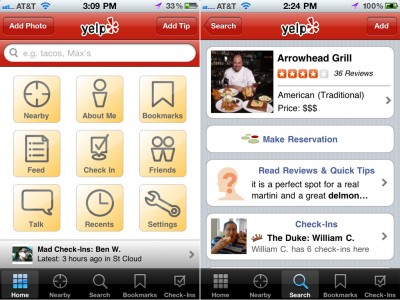 Yelp Now Offers Fully Integrated OpenTable Restaurant Reservations