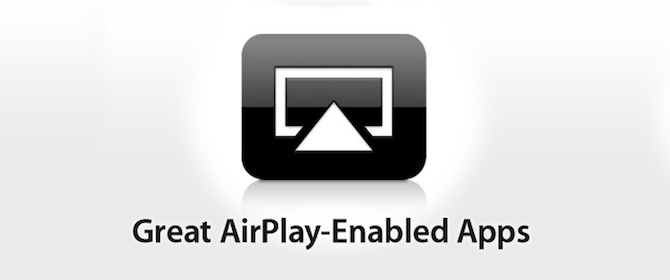 "New ""AirPlay Enabled Apps"" Section Appears In App Store"
