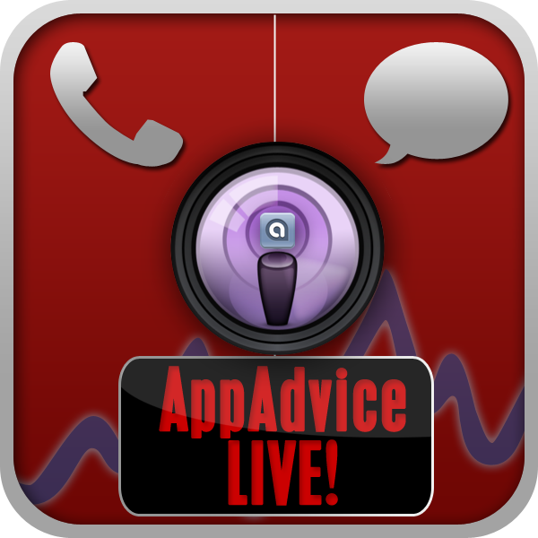 Reminder: AppAdvice Live! - Join Us Tonight - New Earlier Time