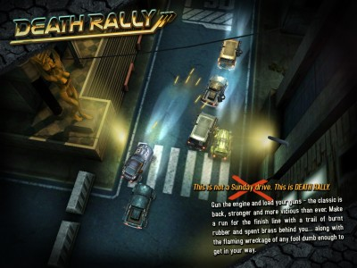 GDC 11: Death Rally is Almost Ready to Blow You Away!
