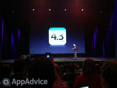Apple To Release iOS 4.3 On March 11