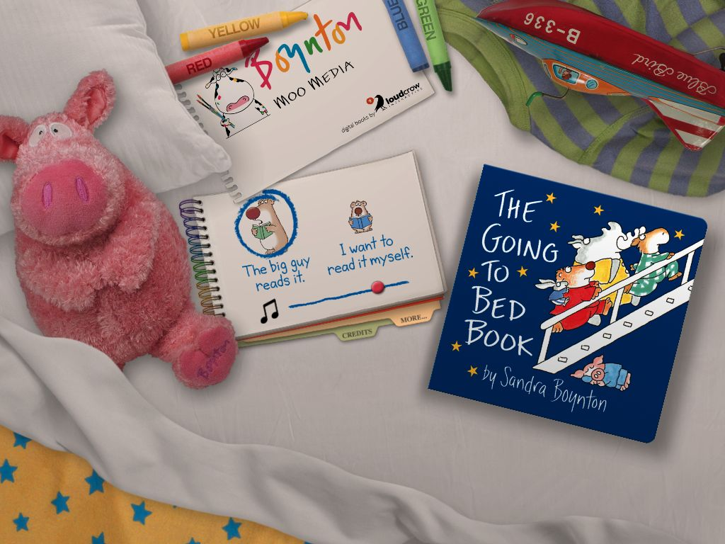 Bedtime With Boynton Has Never Been More Fun: The Going To Bed Book For iPad