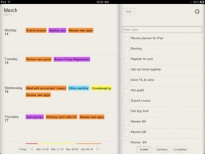 Planner for iPad - Weekly Calendar and Tasks by Steven Romej screenshot