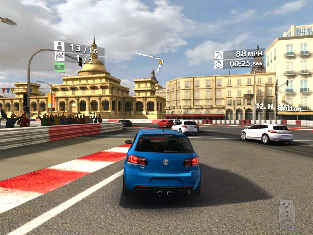 iPad 2 Vs. iPad 1 Showdown: Real Racing 2 HD