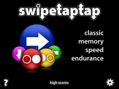 Simon Says Think Fast: SwipeTapTap - And A Chance To Win A Copy With A Comment!