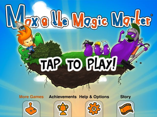 Make Magic With Max and His Magic Marker HD Finally On iOS