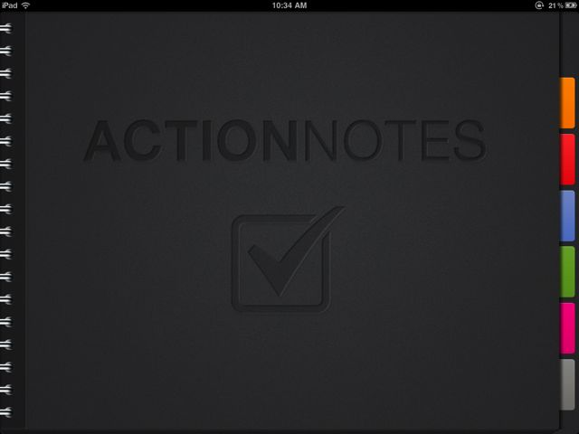 ActionNotes Brings Style And Simplicity To iPad Note-Taking