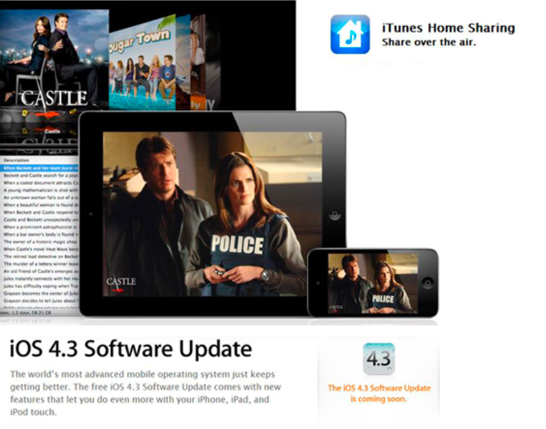 AppAdvice Daily: iOS 4.3 Is Here, Home Sharing How-To, And iPad 2 Store Locations