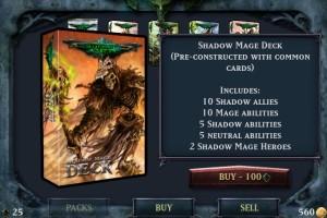 Shadow Era by Kyle Poole screenshot