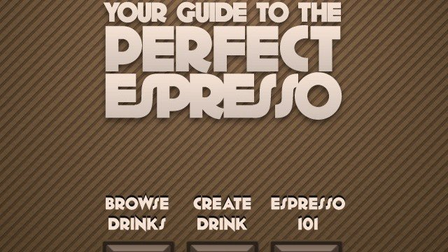 Spro Is A Great iPhone Guide For Coffee Nerds And Newbies Alike